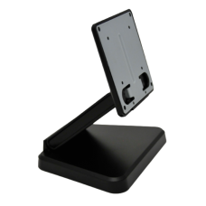 "Monitor Stand, Tilt Bracket, Pre-Drilled Mount Holes, Black, for up to 10"" screens"