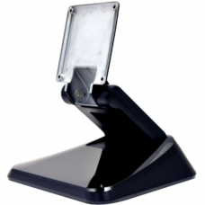 "Monitor Stand, Tilt Bracket, Pre-Drilled Mount Holes, Black, for 15.6"" to 21.5"" screens"