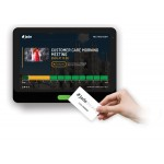"""Voome Jade booking software - Meeting Room screen 10.1"""" Touch LED status light 12 month cloud subscription"""