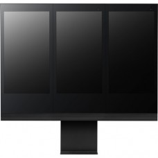 Floor stand for vertical installation of 3 monitors side by side for 49XEB3E