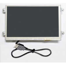 """7"""" Open Frame USB Resistive Touch Display, UM-760RK-OF"""
