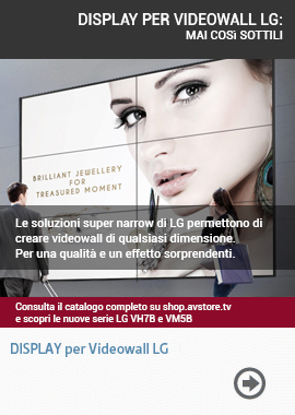 DISPLAY PER VIDEOWALL LG: